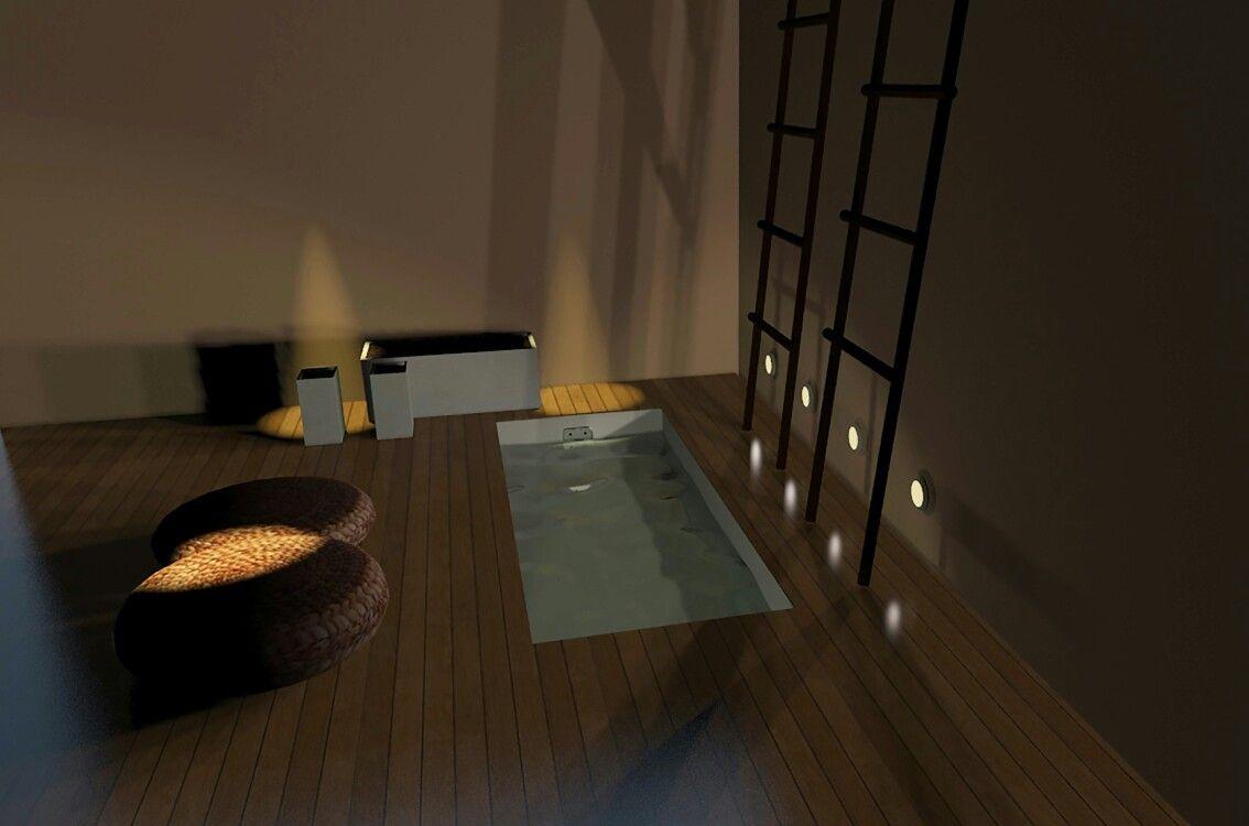 Salle de bains 3d réalisé avec 3ds max