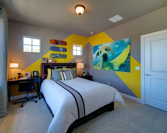 Awesome Decorating Ideas For Boys Bedroom In Contemporary