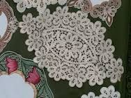 Gorgeous Vintage Linen and Lace Tray Cloth by Jenneliserose, $18.00 ile ilgili görsel sonucu