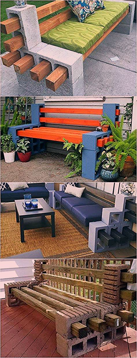 Photo of How to Make a Cinder Block Bench: 10 Amazing Ideas to Inspire You!