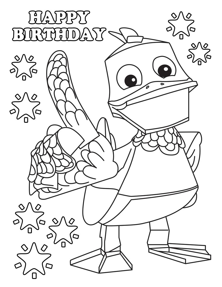 zack en quack kleurplaat kidkleurplaat nl