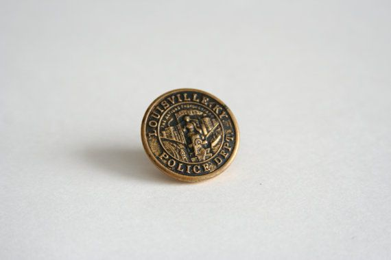Louisville Police Tie Pin Louisville KY Police Lapel by AngleAh