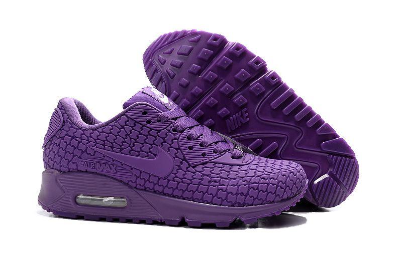 134460201a2f Womens Nike Air Max Urban Goddess all purple shoesg