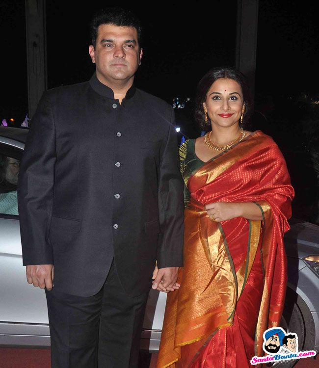 Tulsi Kumar And Hitesh Wedding Reception Siddharth Roy Kapur VIdya Balan Picture