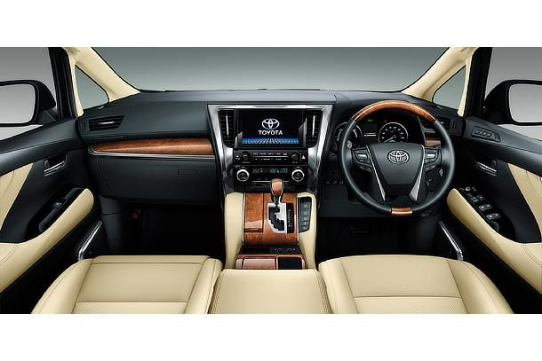 All New Alphard Executive Lounge Harga Grand Veloz 2019 Toyota Model Hybrid Flaxen Interior