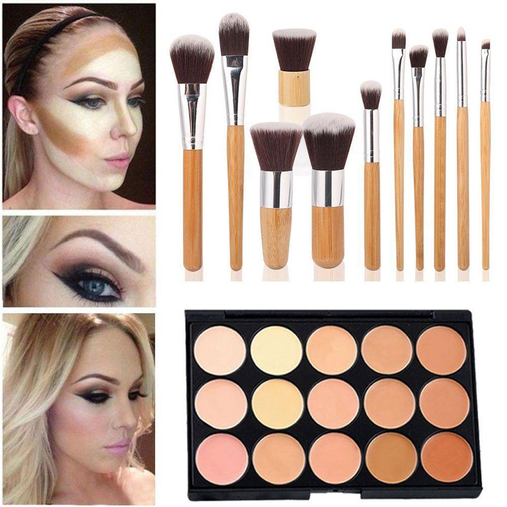 Mefeir 15 Colors Concealer Camouflage Makeup Palette