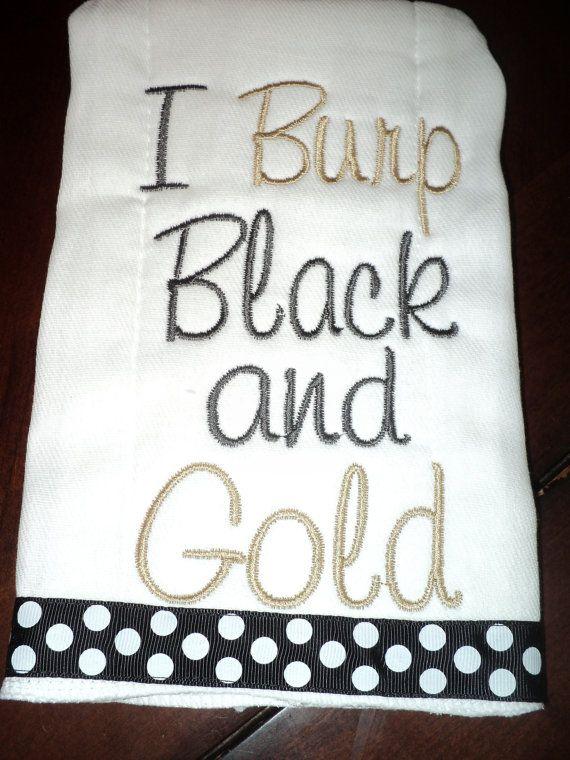 Infant New Orleans Saints Black Trainer Pant Set