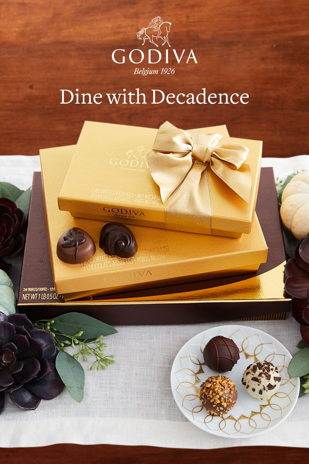 Dine With Our Most Treasured Chocolates And Indulge With Pure Luxury Shop Our Iconic Gold Collection Now Chocolate Assortment Chocolate Gift Boxes Chocolate