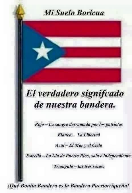 las tres banderas de puerto rico