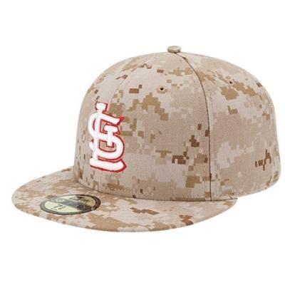 fa1a50c911b St. Louis Cardinals New Era MLB 59Fifty Stars   Stripes Memorial Cap - Mens  - Digital Camo