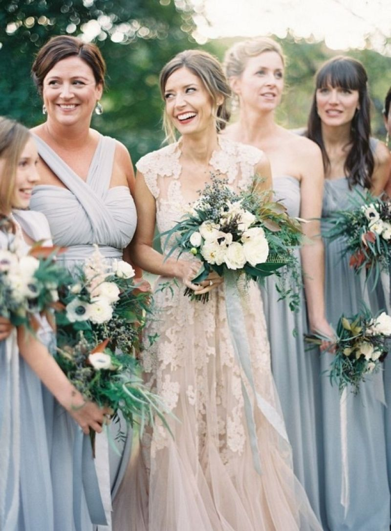 Easy What Color Bridesmaid Dresses With Blush Wedding Dress Allowed In Order To Our Website This Best Picture Collections About Is Available D