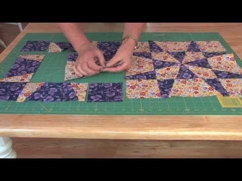 Quilting video from Maggie Ball- Template free op-art kaleidoscope ... : free quilt videos - Adamdwight.com