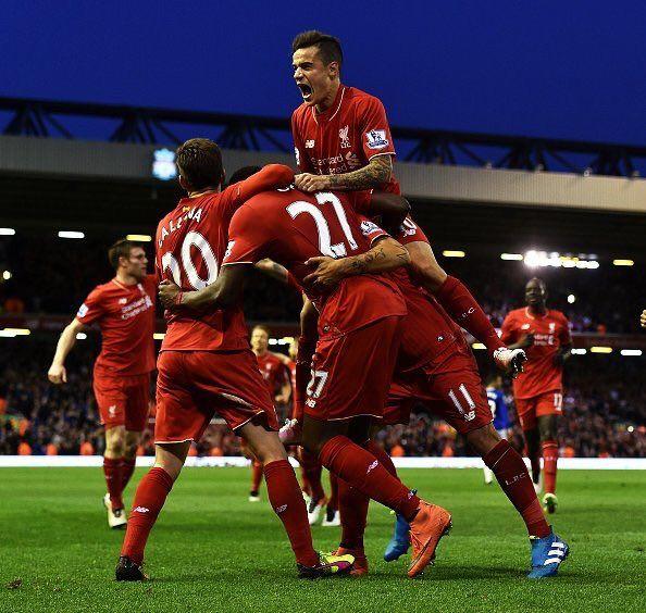 Liverpool vs Everton ft. 4-0 ;)