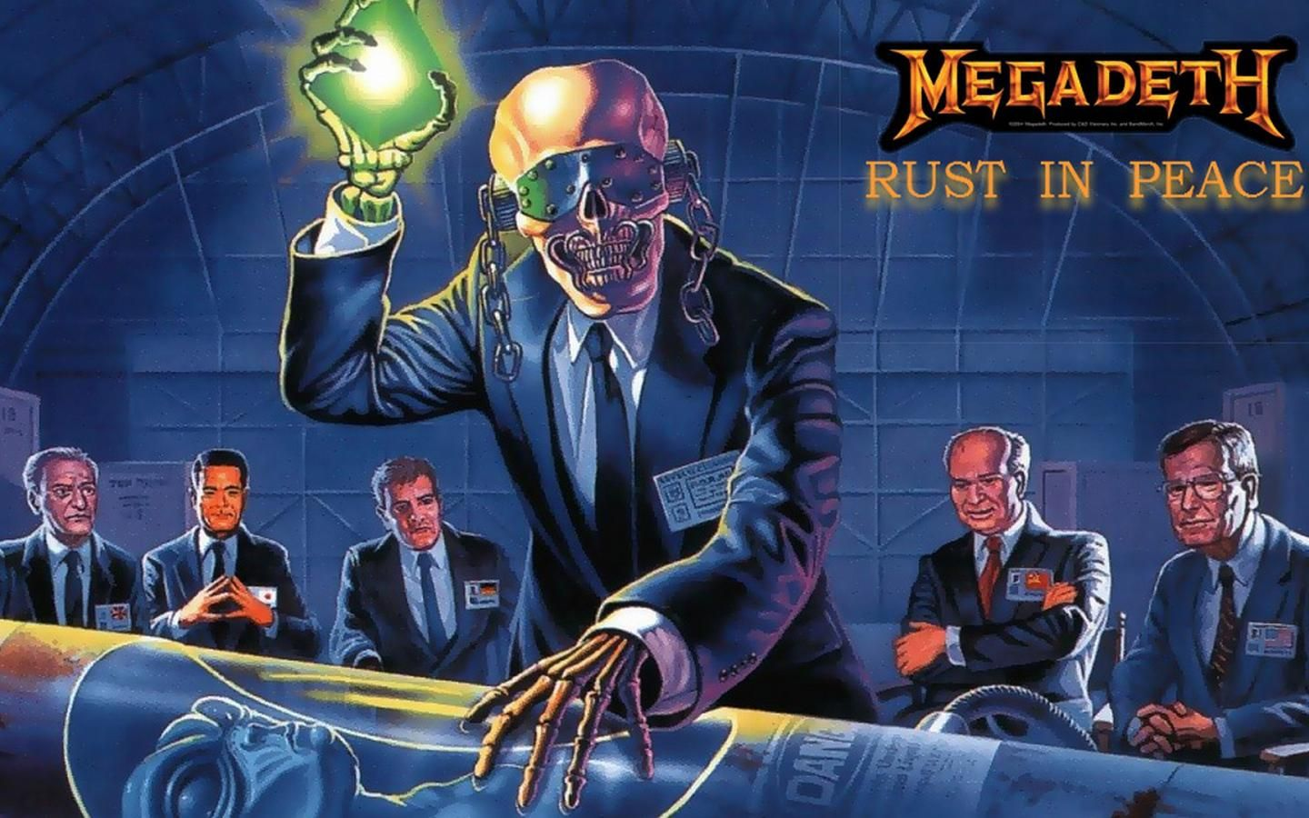 Megadeth Rust In Peace Wallpapers Background Megadeth Cover Wallpaper Rust In Peace