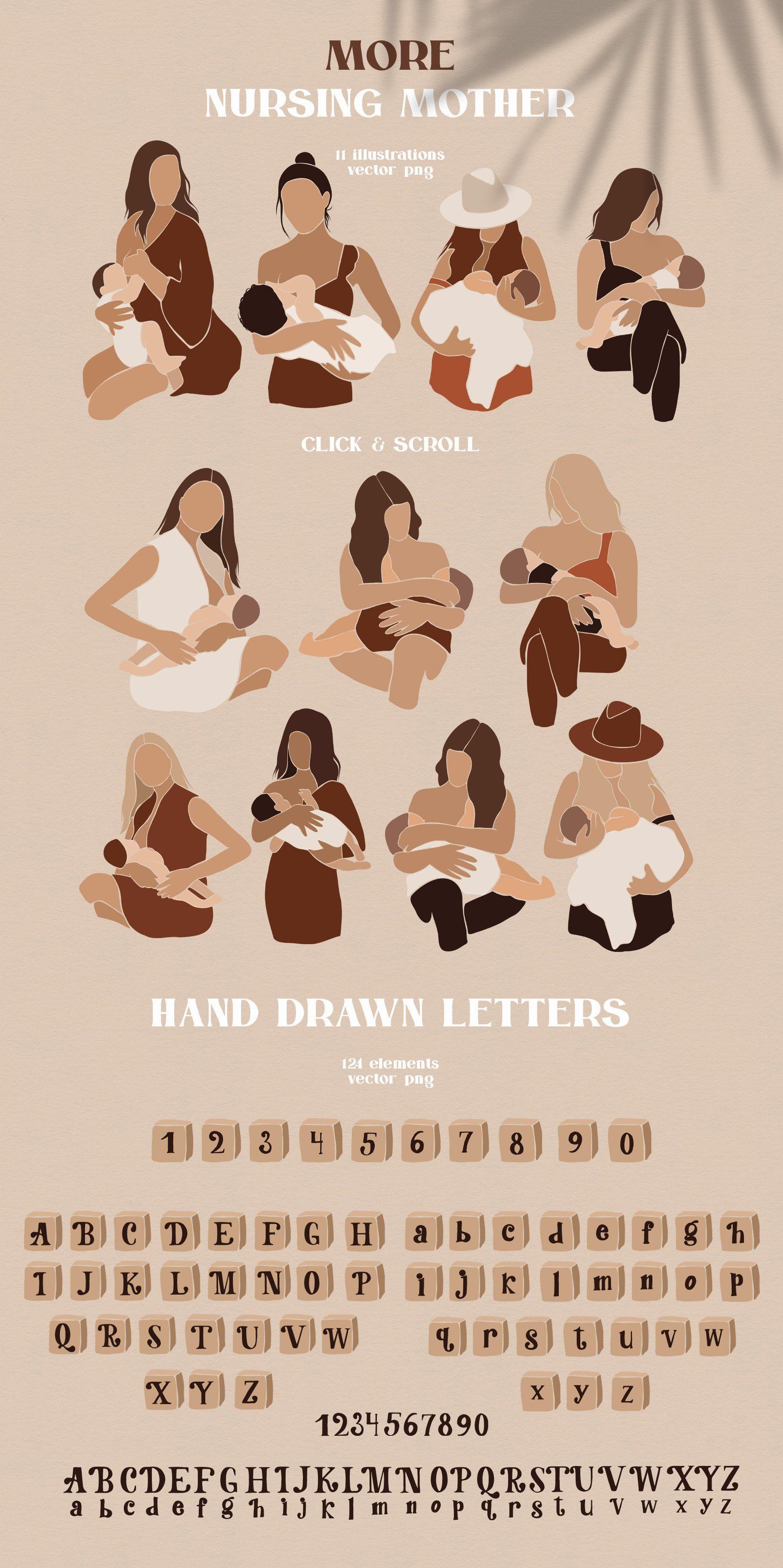 Abstract Kids Bundle In 2020 Children Illustration Illustration Graphic Illustration