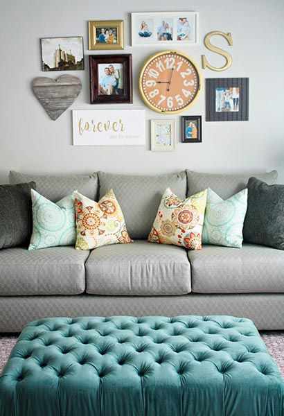 85 creative gallery wall ideas and photos for 2019 on living room colors for walls id=79762