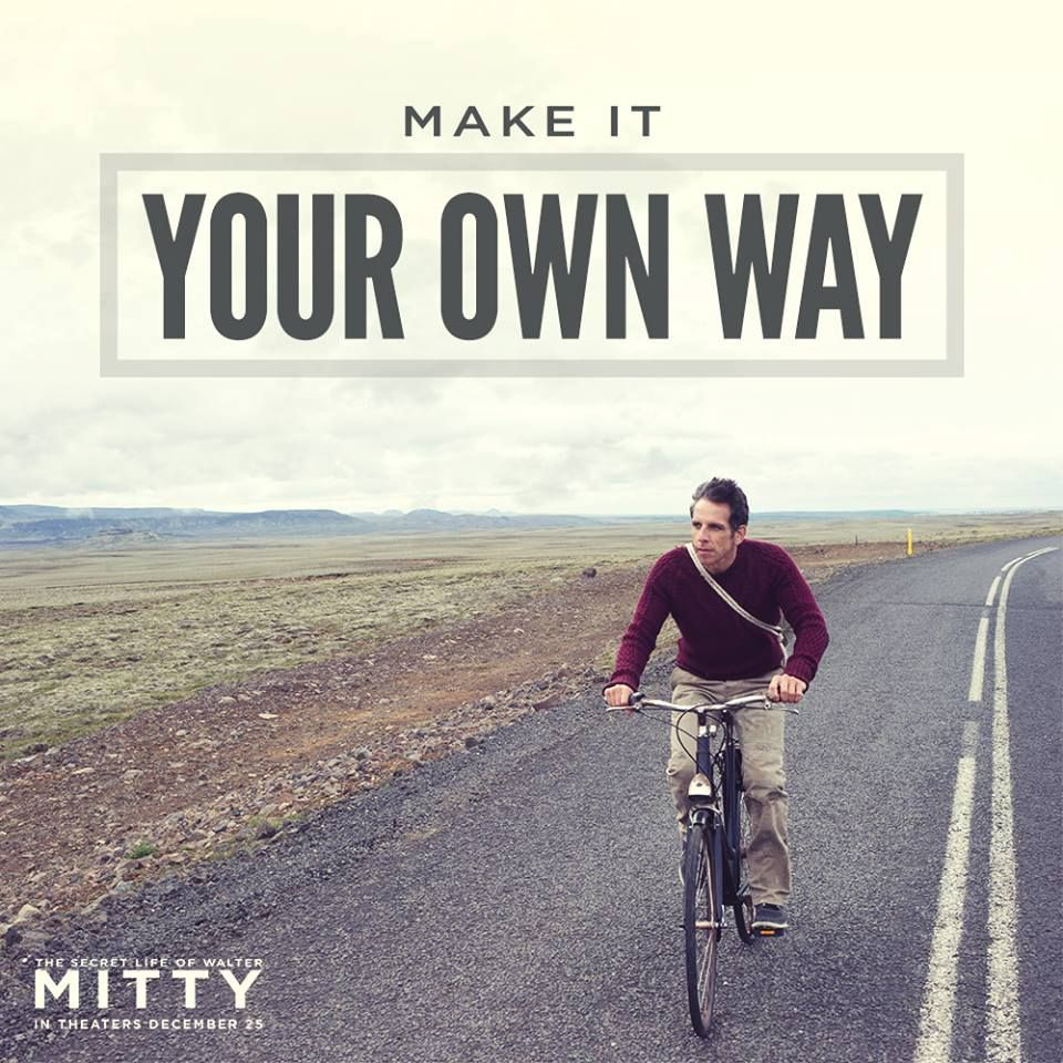 Enjoy The Ride The Secret Life Of Walter Mitty Opens In Theaters