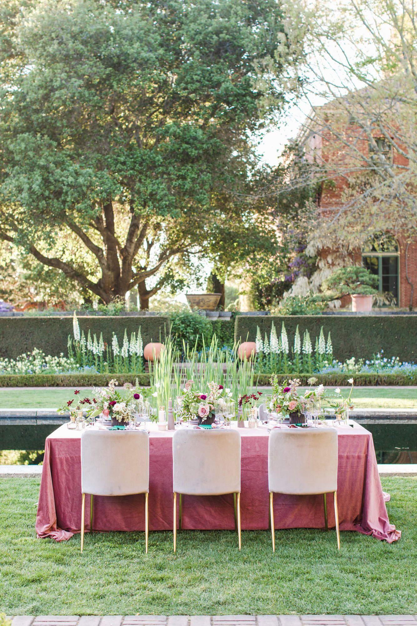 Filoli Garden Wedding Inspiration Colorful Enchanted California Garden Garden Wedding California Romantic Garden Wedding Garden Wedding Inspiration