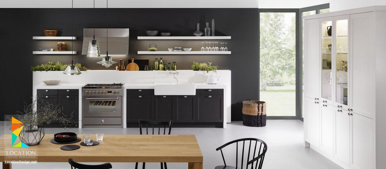 ديكورات مطابخ مودرن صغيرة بتصميمات بسيطه وعمليه Kitchens