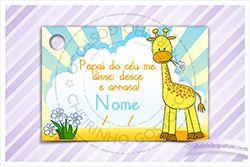 cartãozinho para lembrancinhas de maternidade - Pesquisa Google