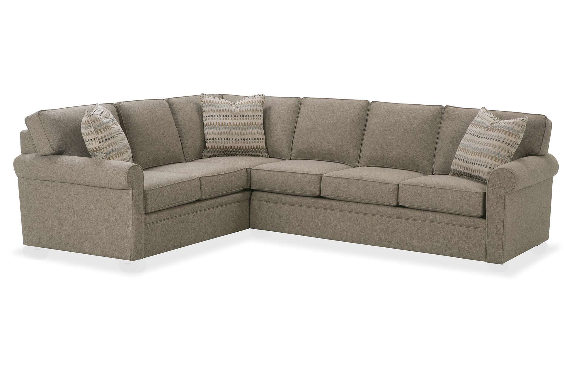 94 X 94 3 Pieces 40 Deep The Brentwood Sectional From Rowe