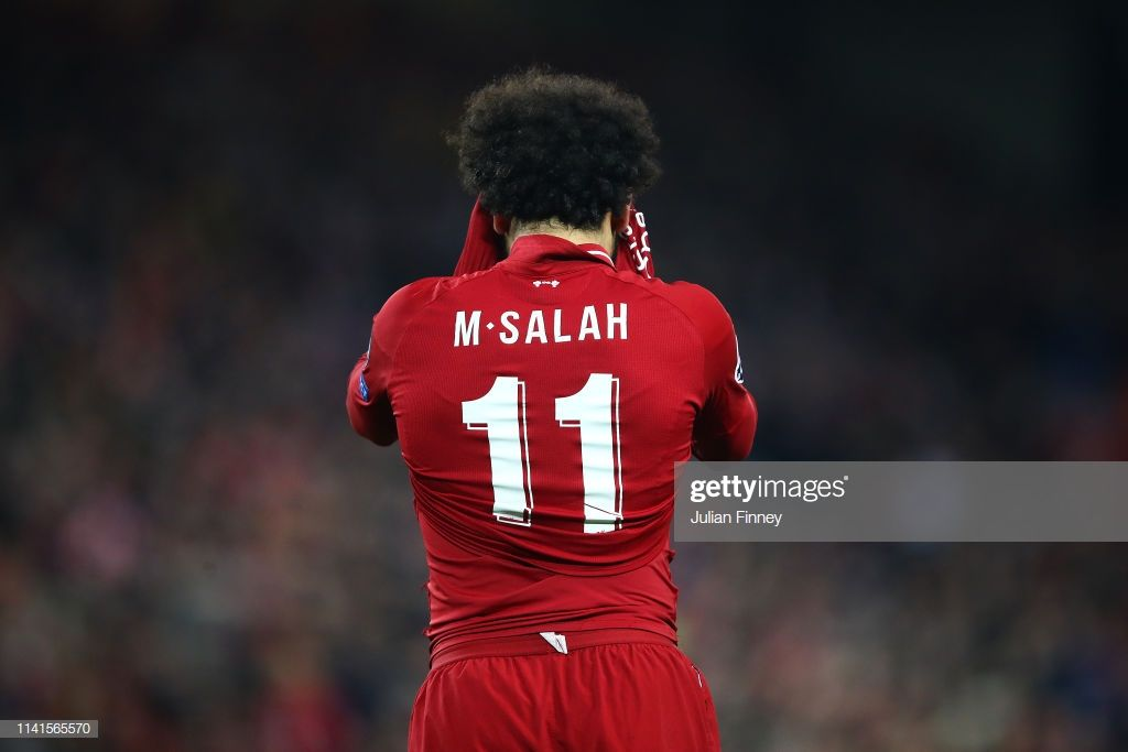 Mohamed Salah Of Liverpool After A Missed Chance During The Uefa Mohamed Salah Premier League Transfer Rumours