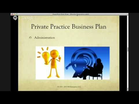 Business Plan Webinar Replay Find Out What You Need To Know For - Private practice business plan template