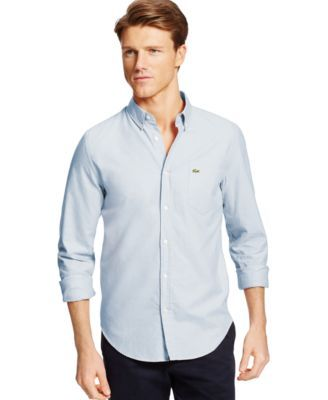 Lacoste Core Oxford Woven Shirt