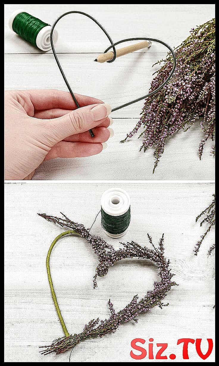 Make wedding decoration yourself 5 simple flower # on #Crafting instructions #Flowers ... - My Decoration Blog - BadeAnzug #outfitweihnachtsmarkt