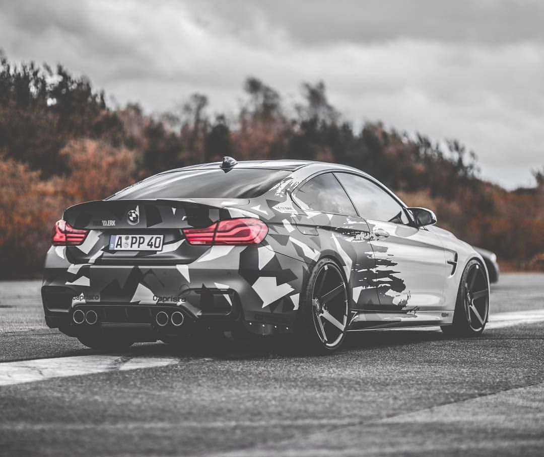 2 665 Likes 45 Comments Bmw M4 F82 Dennis M4npower On Instagram One For All All For One Bmwrepost Bmw Picture Made By Ma Bmw M4 Bmw Camo Car
