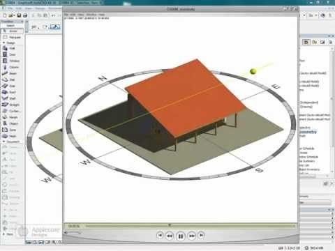 ArchiCAD Object: Compass Object The Compass object is now available