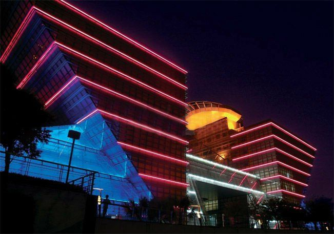 Led Neon Tube Led Neon Flexible Lights 12v Led Neon Suitable For Outdoor Building Buy Color
