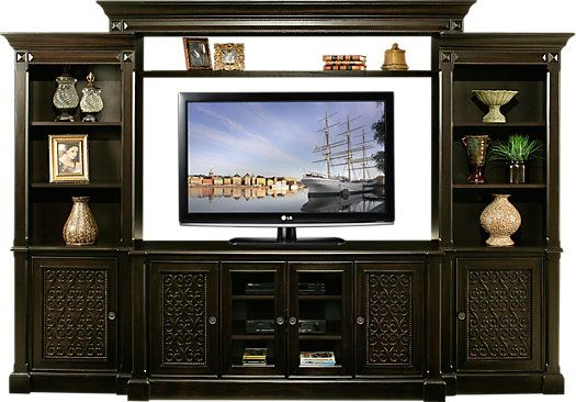 Shop For A Marisol Park 4 Pc Wall Unit At Rooms To Go Find Wall Units That Will Look Great In Your Home And Comp Wall Unit At Home Furniture Store