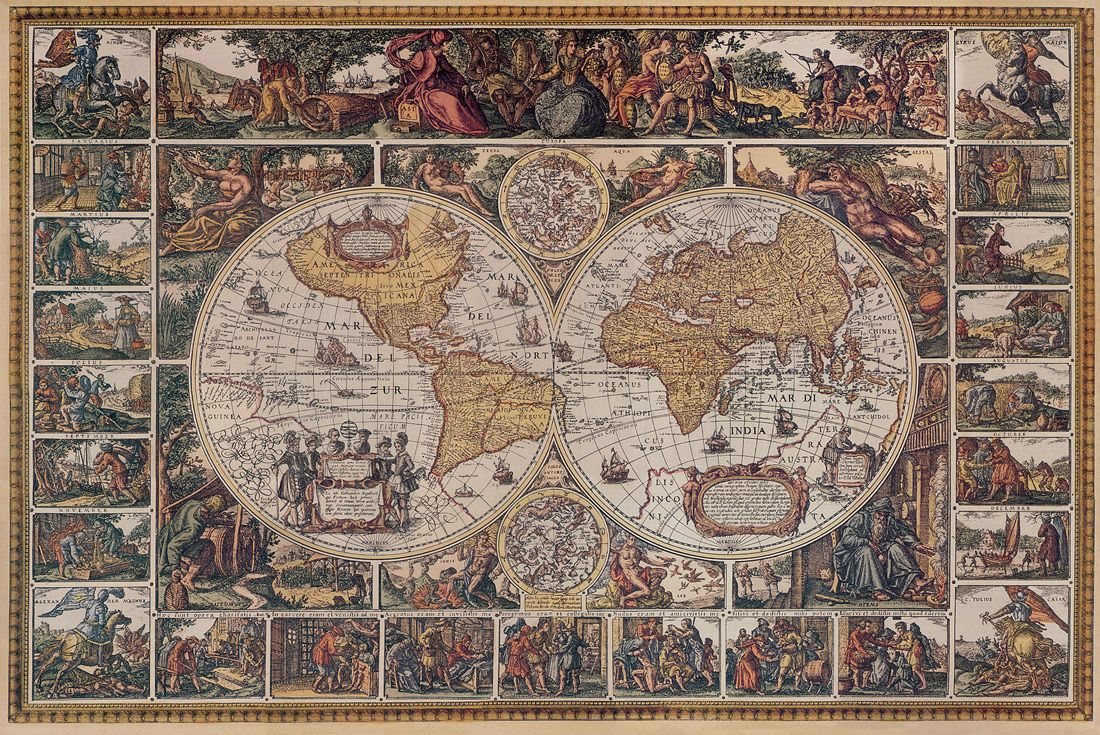 Antique world map wallpaper close window ceiling ideas old world wallpaper map mural gumiabroncs Images