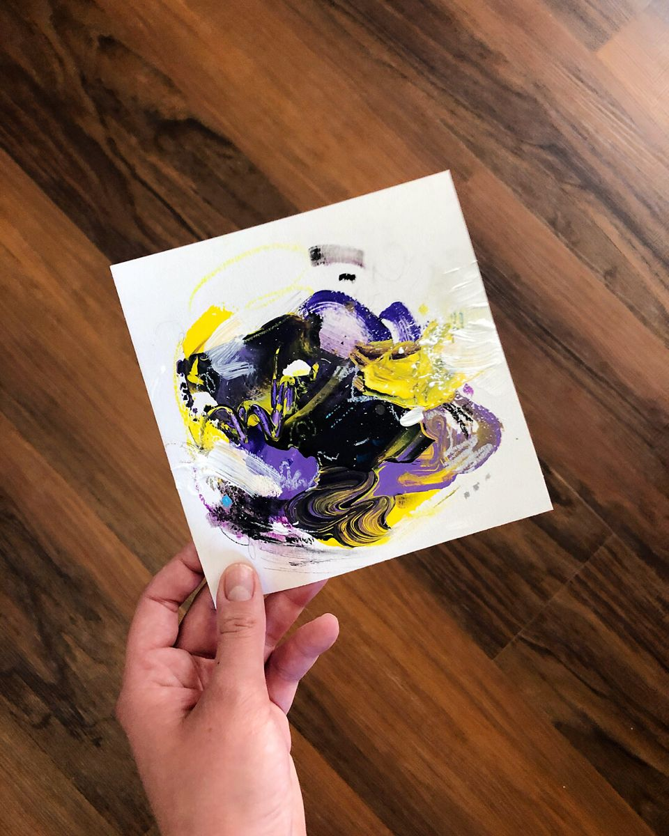 #abstractpaintings #smallpaintings #canadianartist #handmadehomedecor