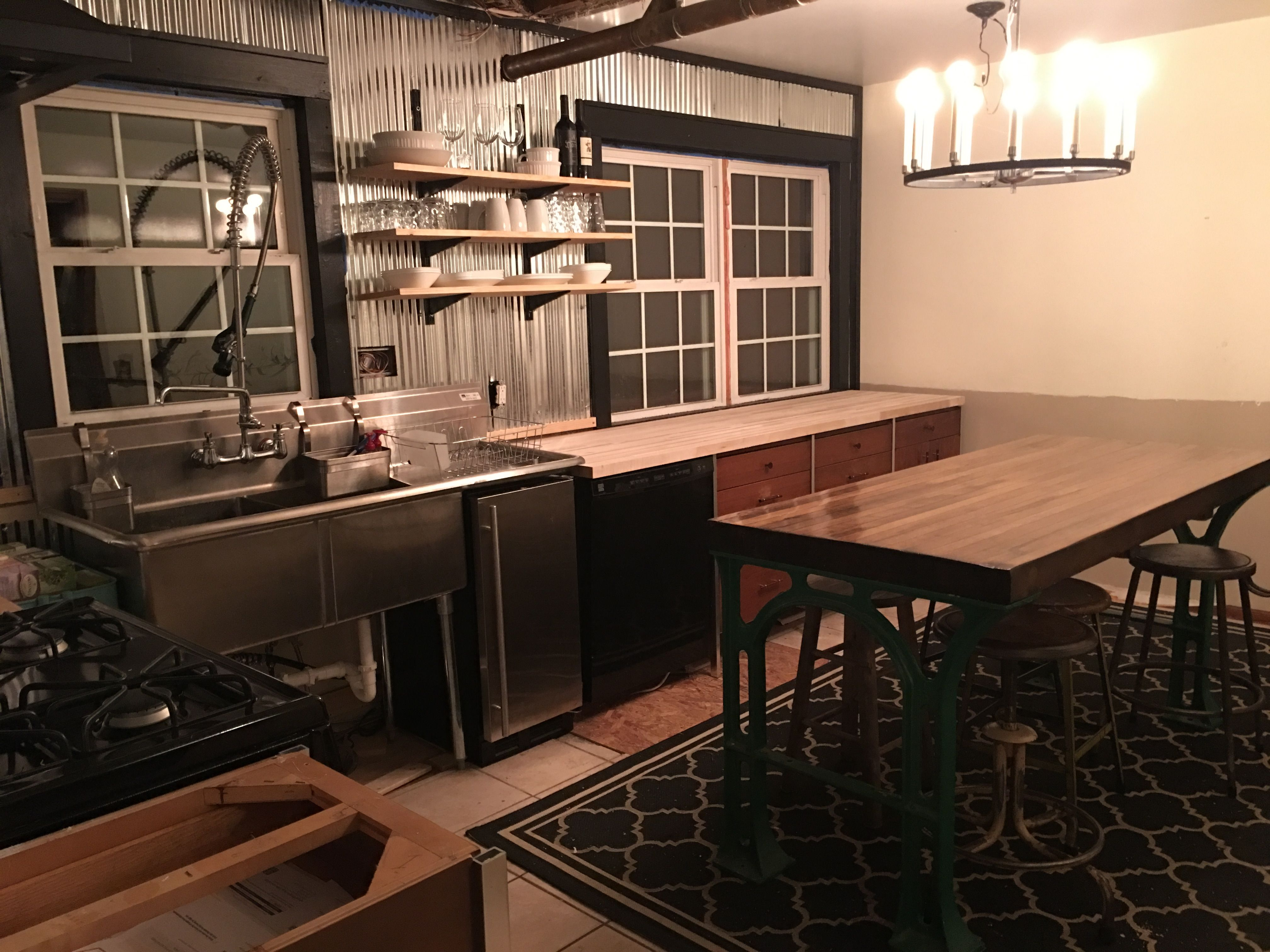 Diy kitchen remodel progress still a ways to go but itus functional
