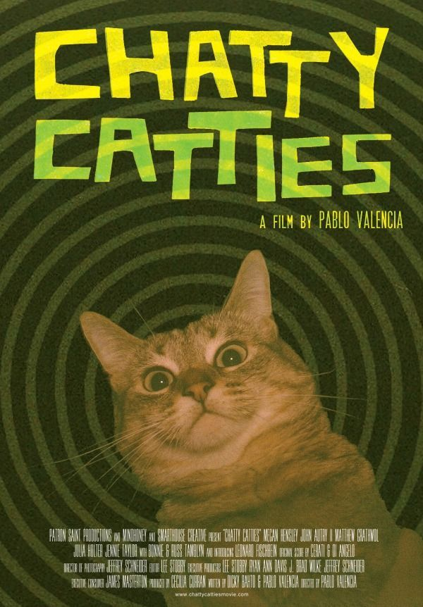 Caturday Movies Chatty Catties Cat Movie Cat Talk Cats