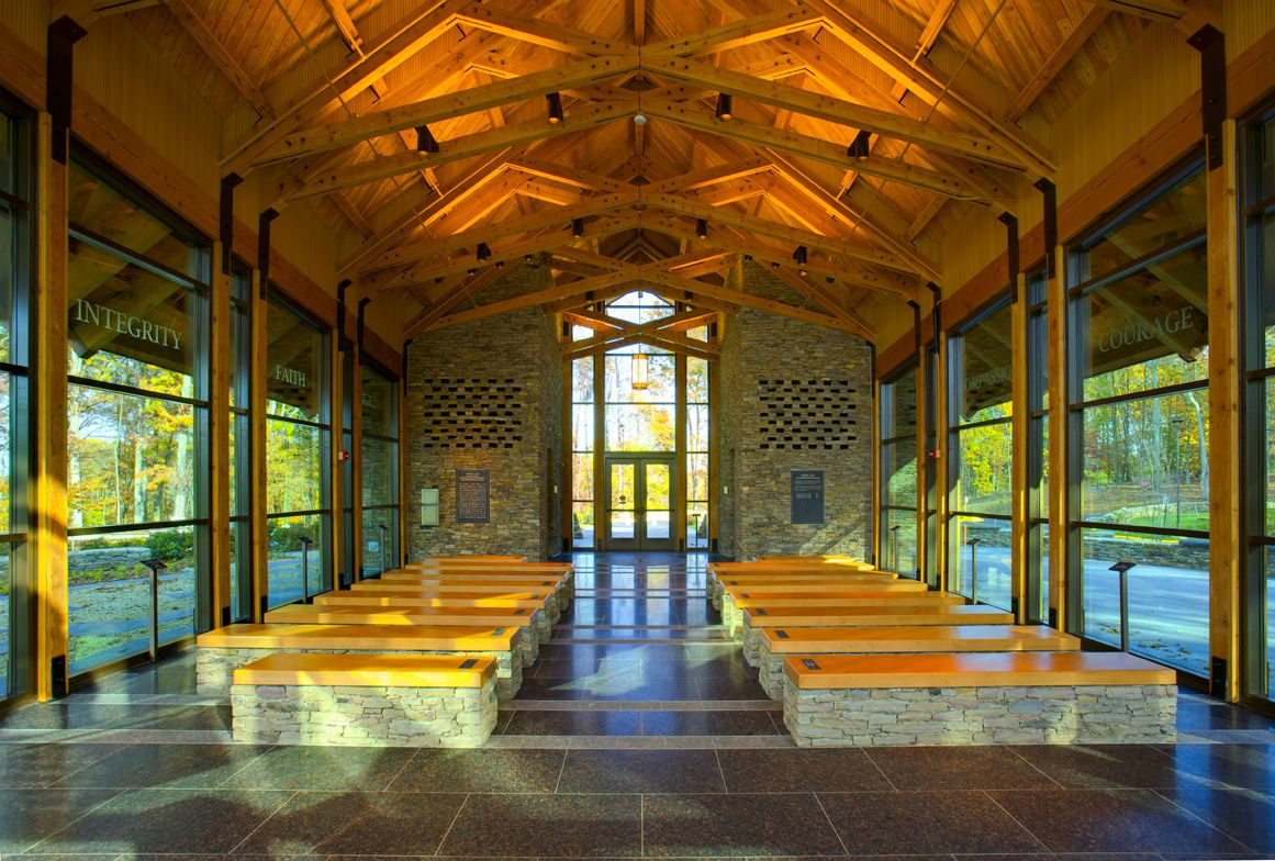 Chapel at the Marine Corps Museum at Quantico, VA. | Sacred Spaces ...