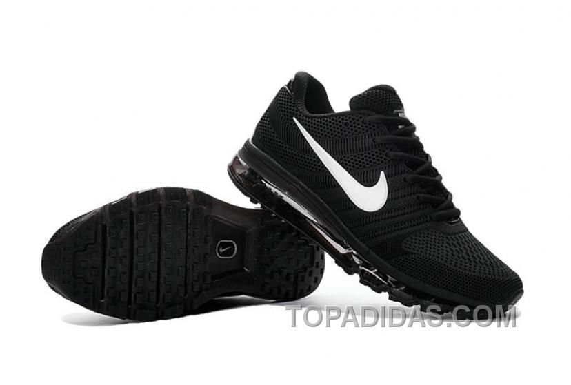 nike air max 2017 kpu black white