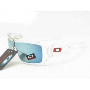c538ad40027 Cheap Oakley Eyepatch 2 Sunglasses white frame yellow-blue Iridium outlet  on sale