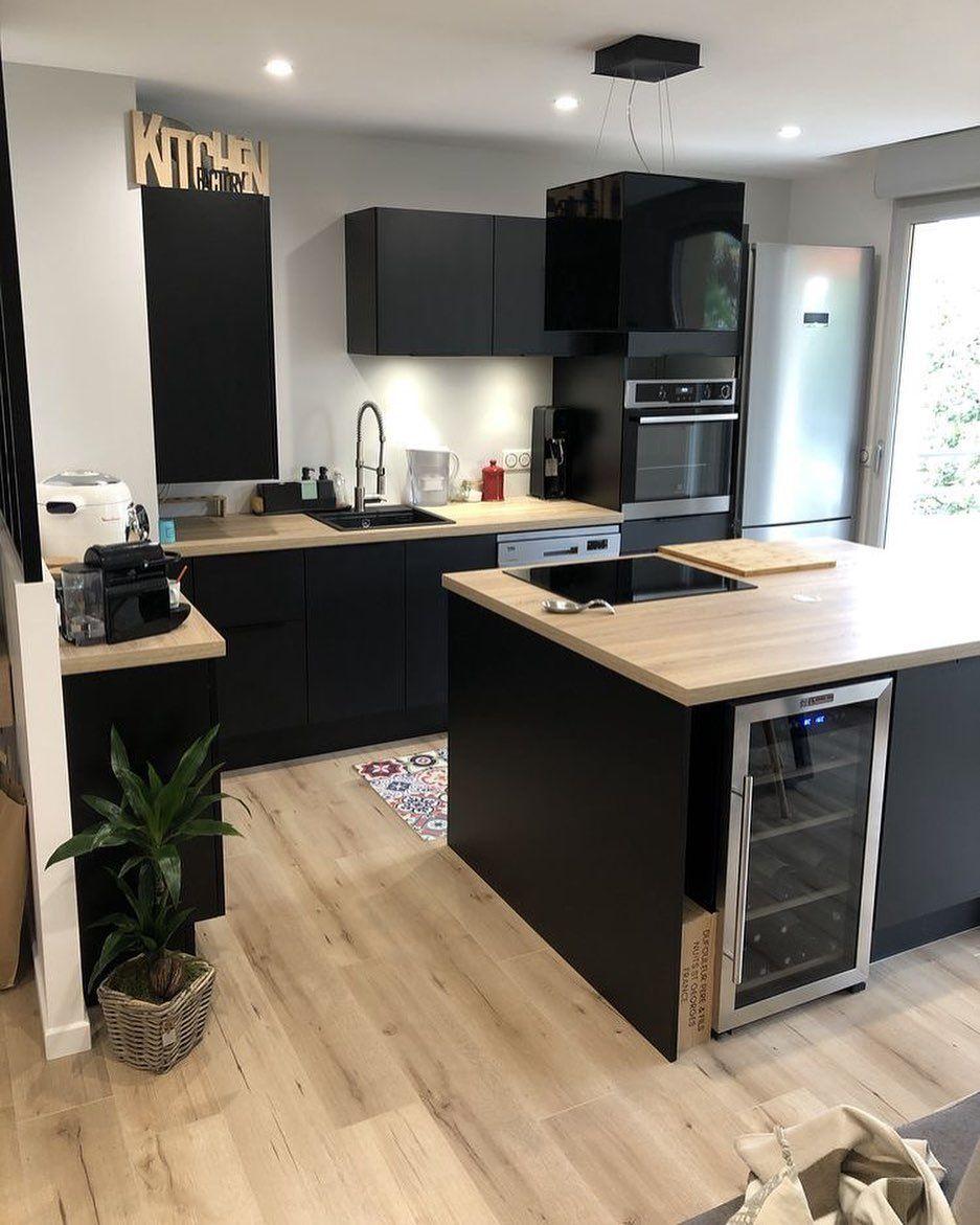 """Inspi_Deco auf Instagram: """"▪️ Kitchen decor 💫 😍 Inspi @chloey__ #picoftheday #instalike #kitchen #kitchendesign #kitchendecor #kitchenview #homedecor…"""""""