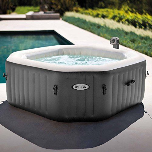 Outdoor Hot Tubs 4 Person Octagonal 210 Gallon Spa With 120
