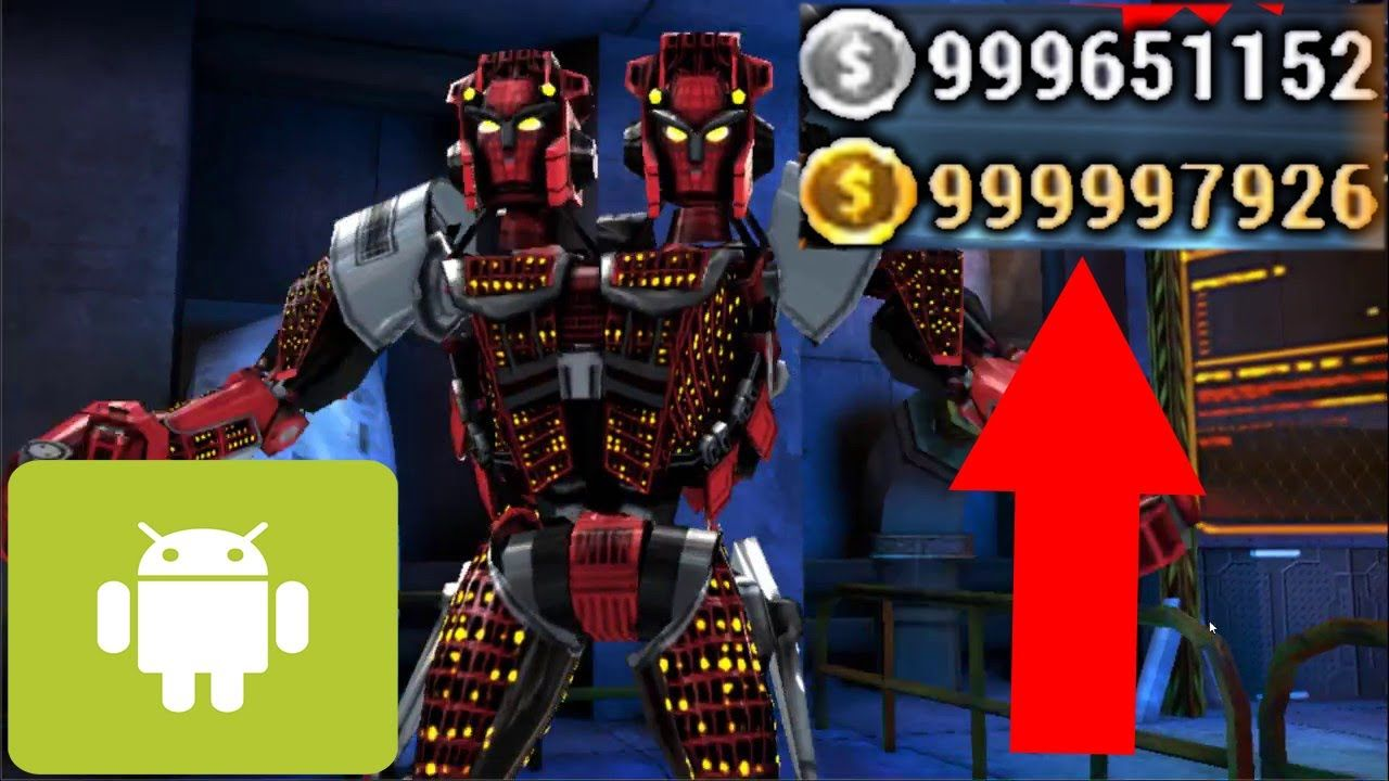 Real Steel Champions Mod Unlimited Money No Root Real Steel