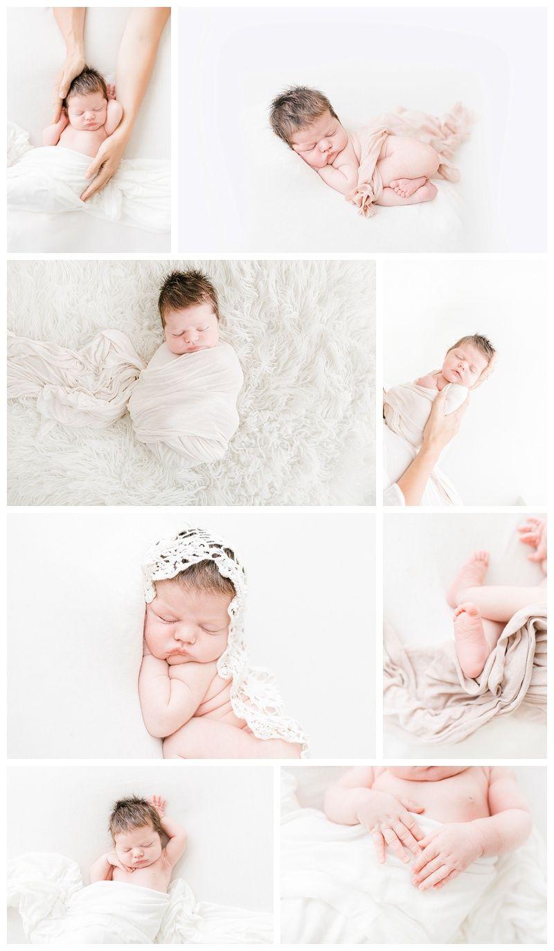 Natural newborn photography posing by miranda north