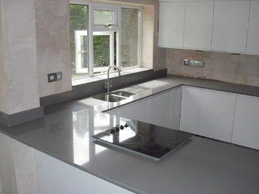 Cemento Spa Quartz Worktops Silestone Contemporary Manchester
