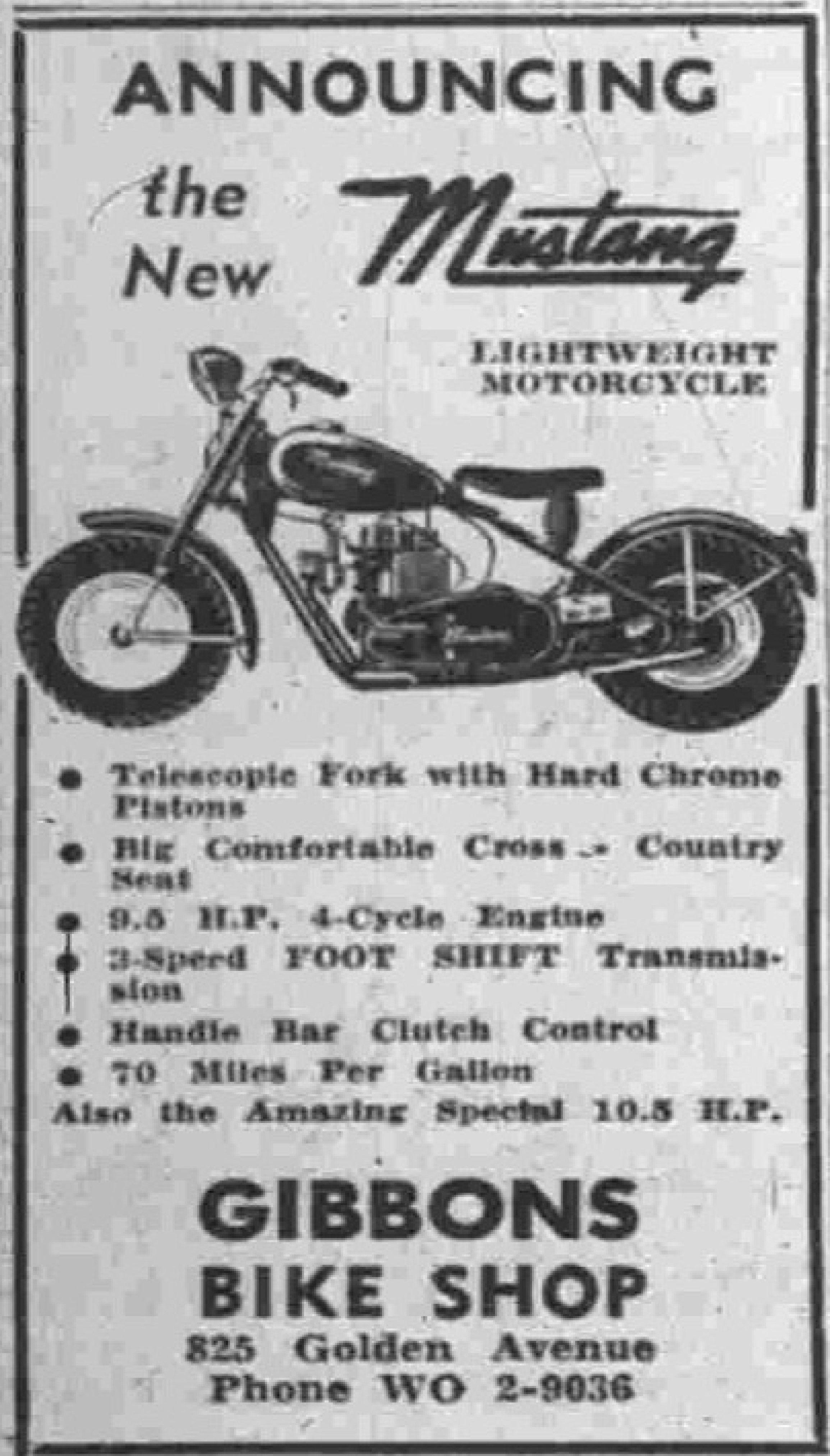 Gibbons Bike Shop Battle Creek Michigan Mustang Lightweight