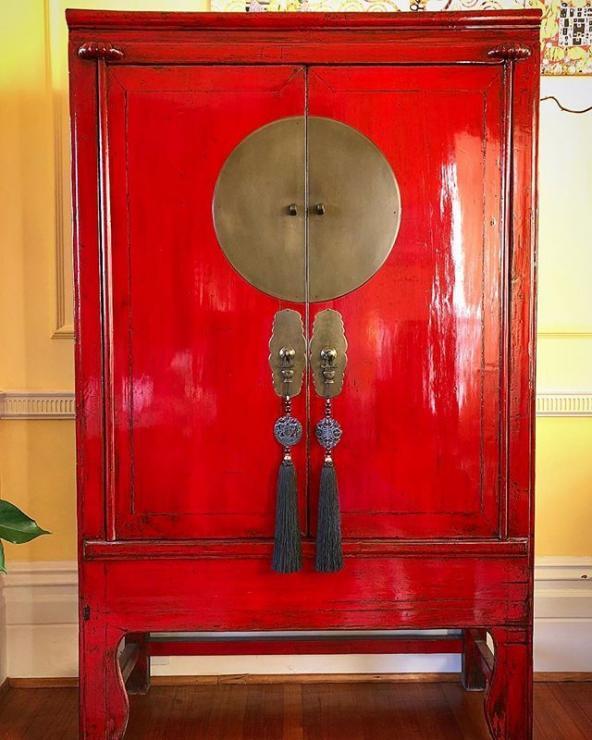 Chinese Wedding Cabinet, Antique Chinese Furniture Uk