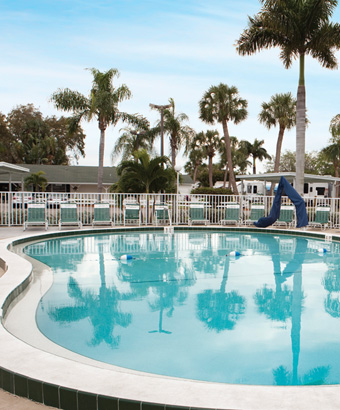 Groves RV Resort, A Sun RV Resort at Fort Myers, Florida, United States - Passport America Discount Camping Club