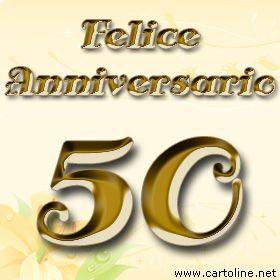 50 Anni Matrimonio Auguri Anniversario Di Matrimonio