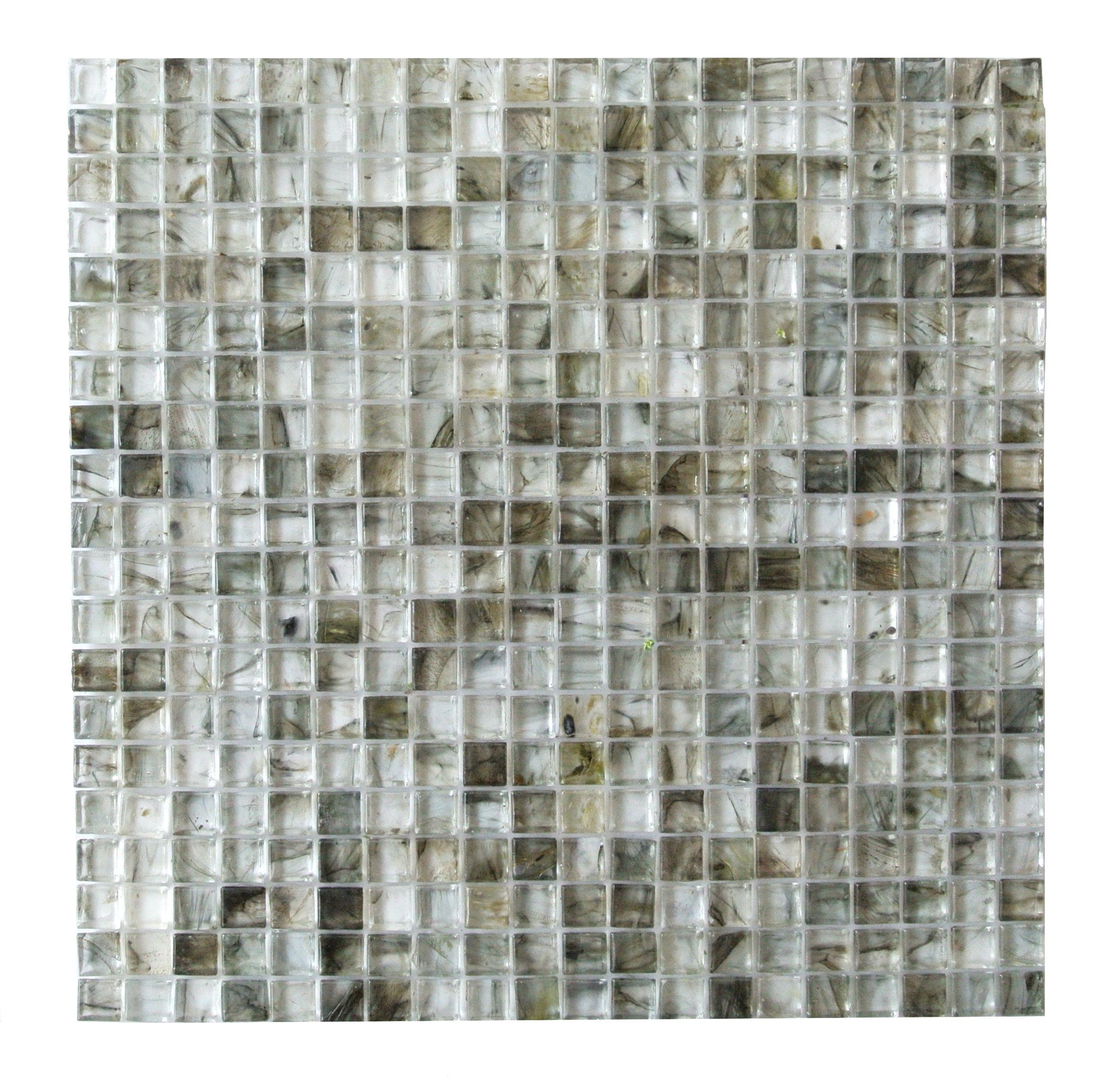 5 8 X5 4d Cube Nori Gl Mosaic Kitchen Bathroom